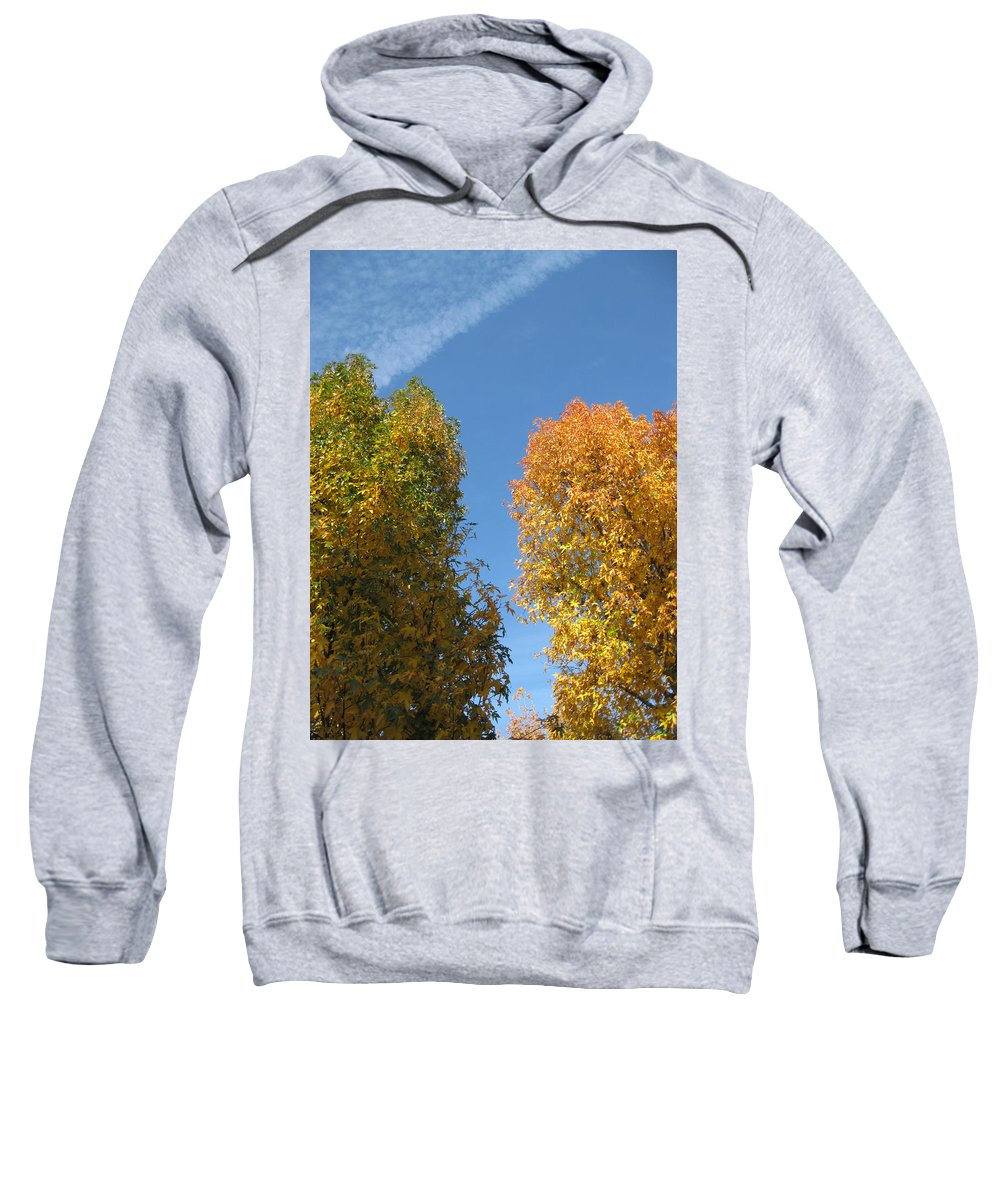 Autumn Sweatshirt featuring the photograph Equinox by James Barnes