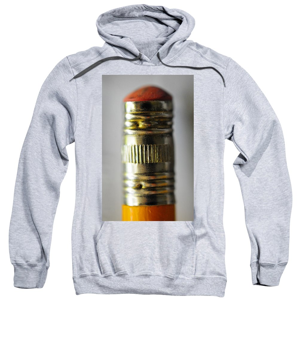 Skip Hunt Sweatshirt featuring the photograph Eraserhead by Skip Hunt