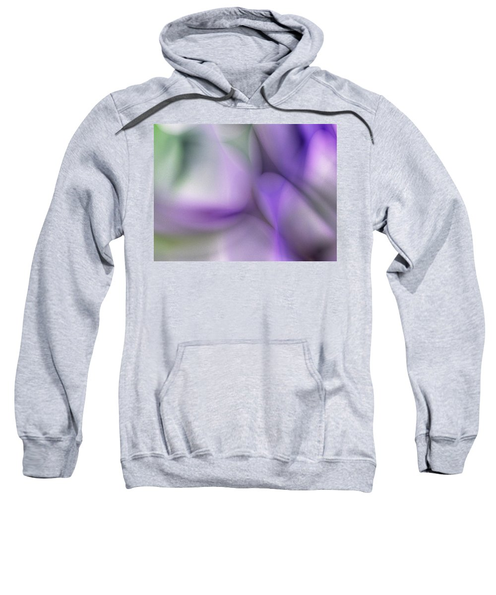 Digital Painting Sweatshirt featuring the digital art Erotica 2 by David Lane