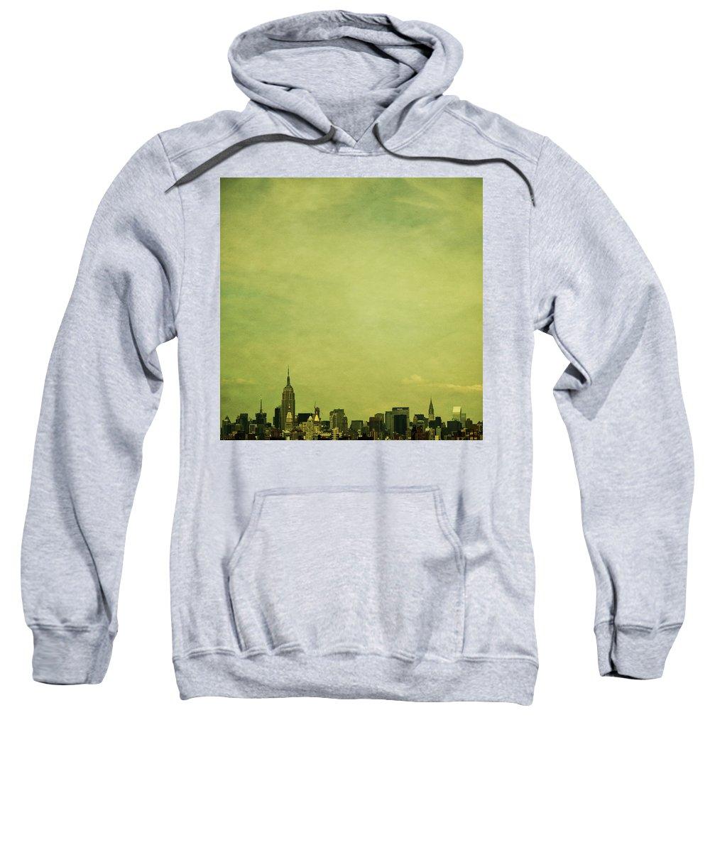 New Sweatshirt featuring the photograph Escaping Urbania by Andrew Paranavitana