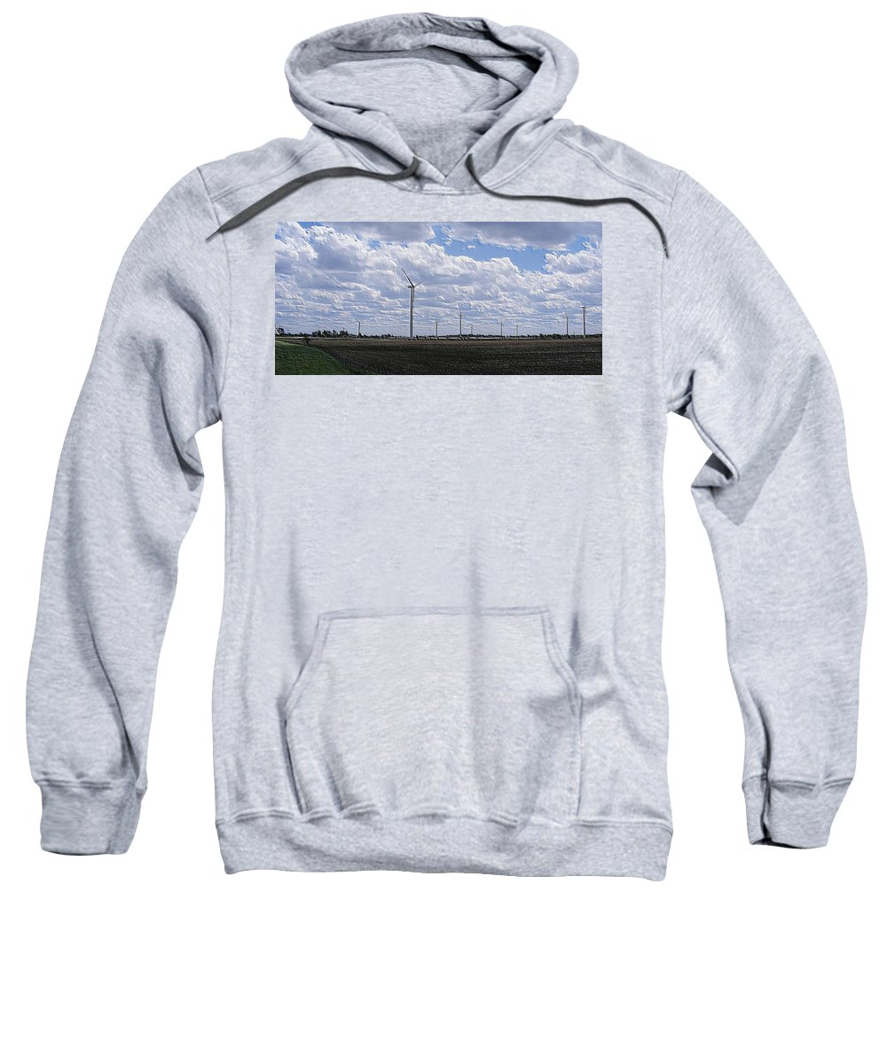 Wind Sweatshirt featuring the photograph Etched In Stone by Ed Smith