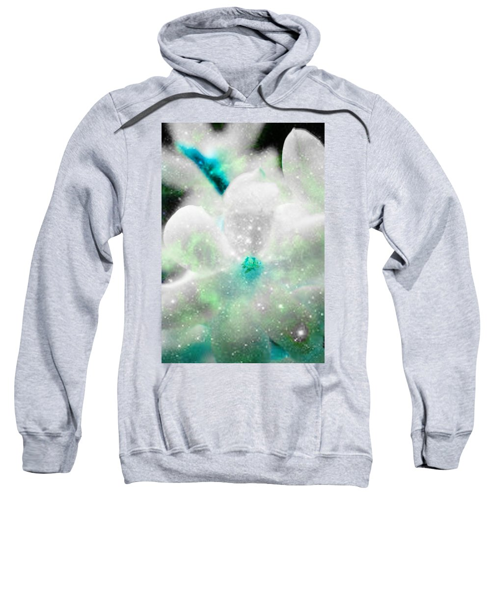 Eternal Sweatshirt featuring the photograph Eternal Serenity by Alex Art and Photo