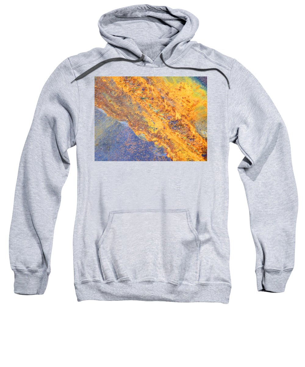 Abstract Sweatshirt featuring the photograph Ethereal Rust by Lenore Senior