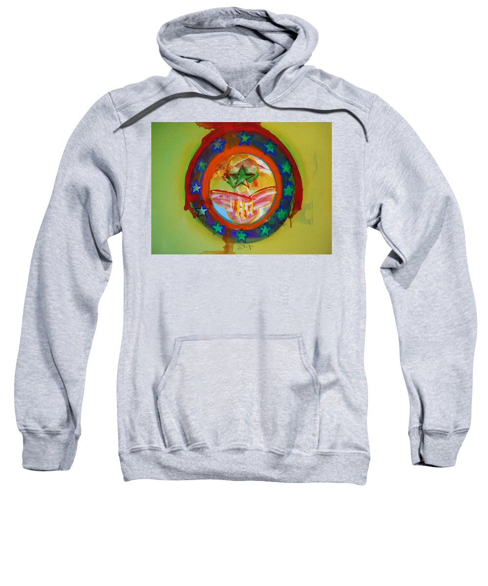Sweatshirt featuring the painting European Union by Charles Stuart