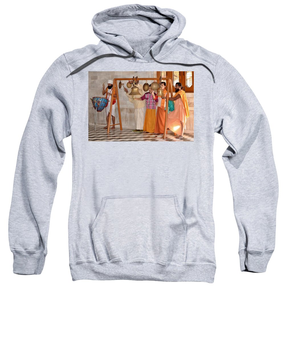 Sweatshirt featuring the photograph Evening Bells At The Temple by Kim Bemis