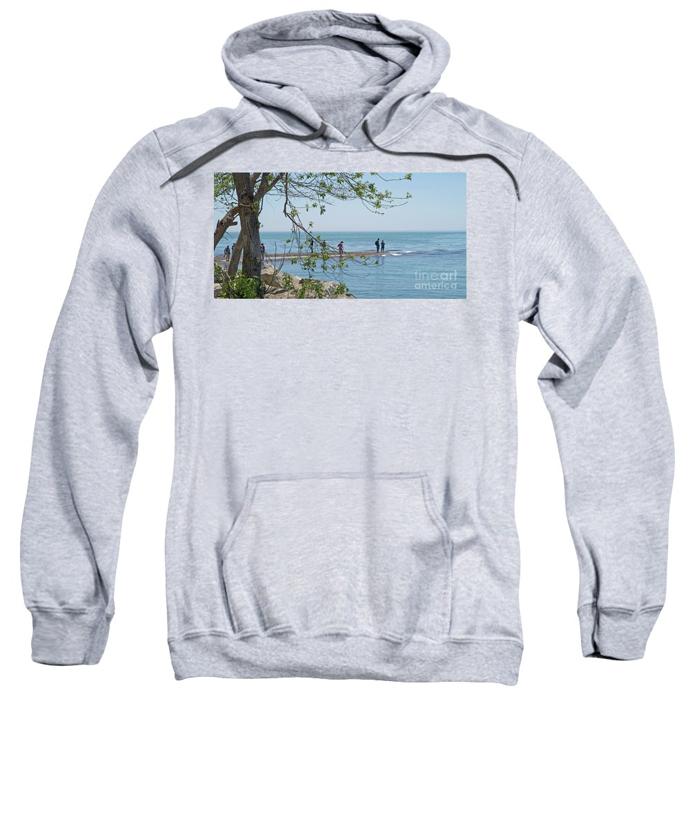 Point Pelee National Park Sweatshirt featuring the photograph Ever-changing Pelee by Ann Horn