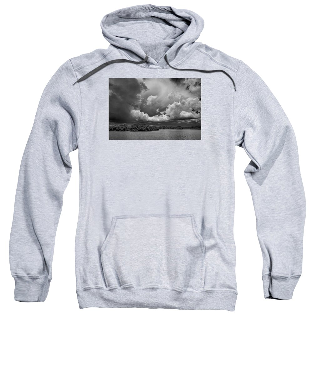 Everglades Sweatshirt featuring the photograph Everglades 0257bw by Rudy Umans