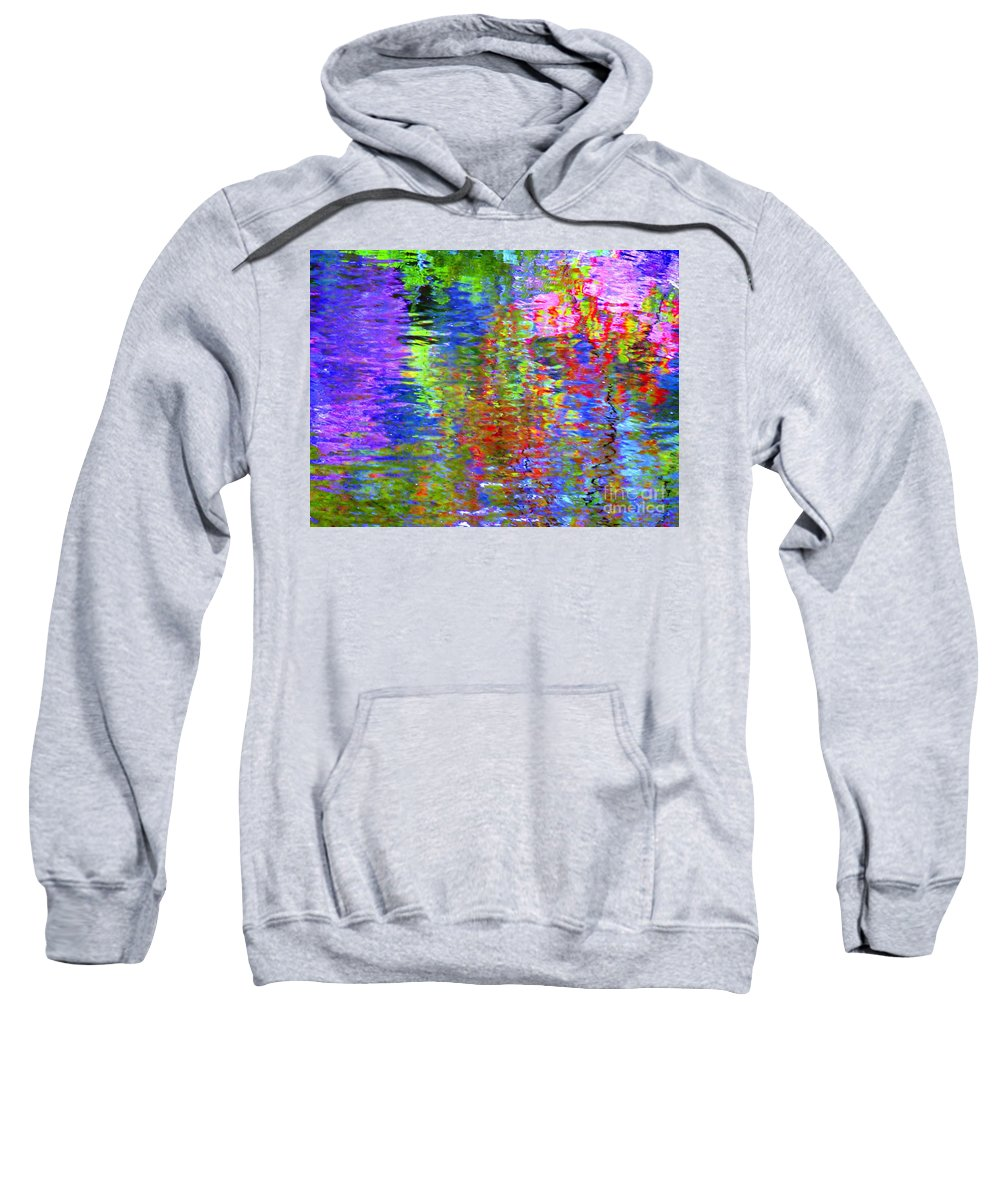Abstract Sweatshirt featuring the photograph Every Act Of Love by Sybil Staples