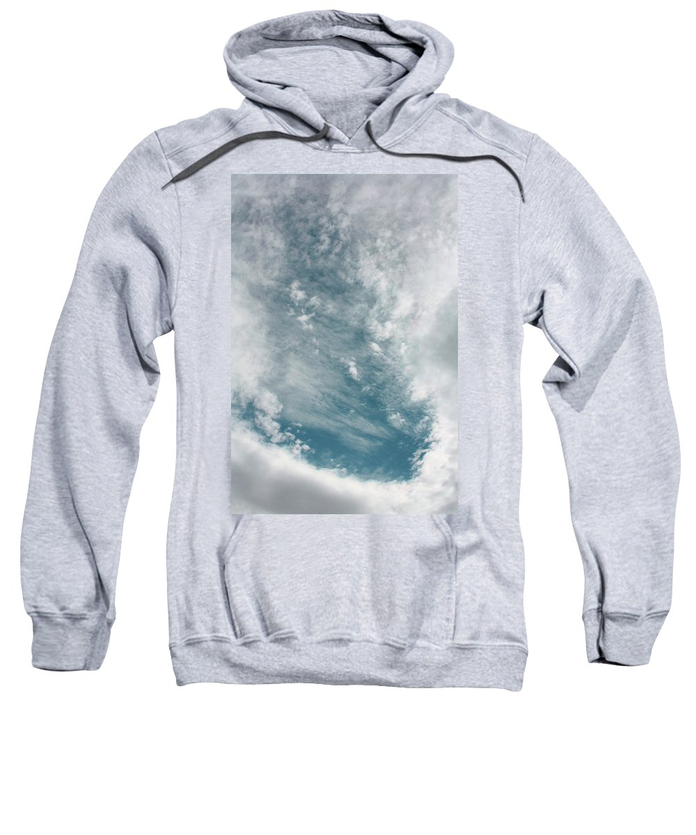 Sky Sweatshirt featuring the photograph Eye In The Sky by Tommy Anderson