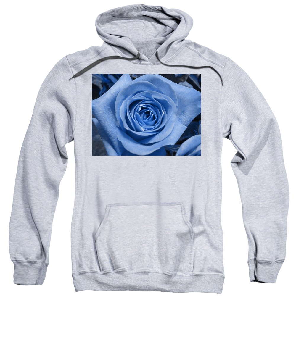 Rose Sweatshirt featuring the photograph Eye Wide Open by Shelley Jones
