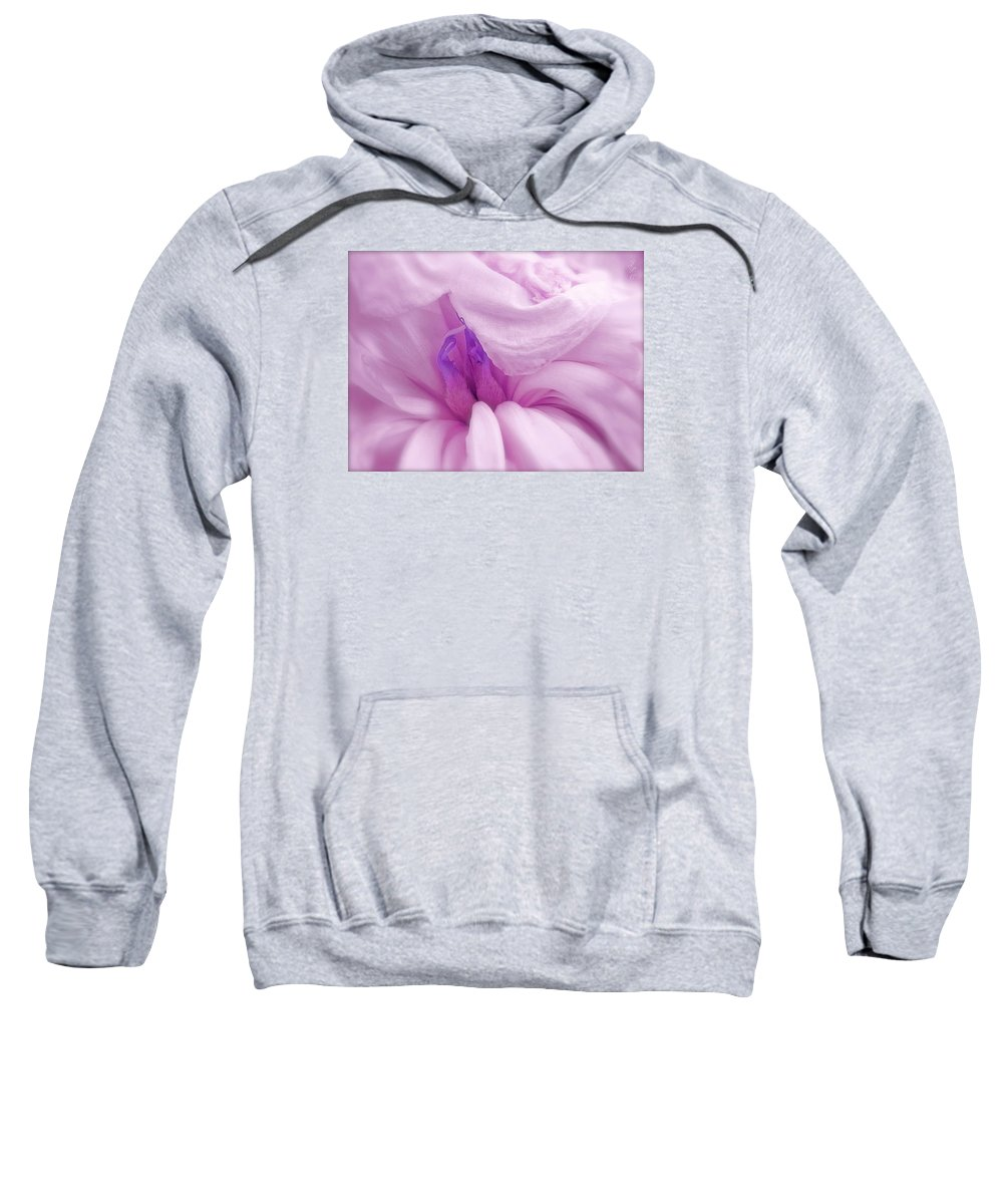 Flower Sweatshirt featuring the photograph Fading Beauty by Jpc Pix