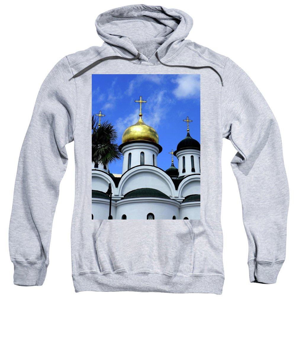 Cuba Sweatshirt featuring the photograph Faith In Cuba, No. 1 by Cheryl Kurman