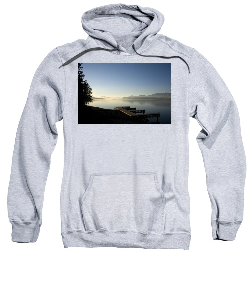 Landscape Sweatshirt featuring the photograph Fall Evening by Lee Santa