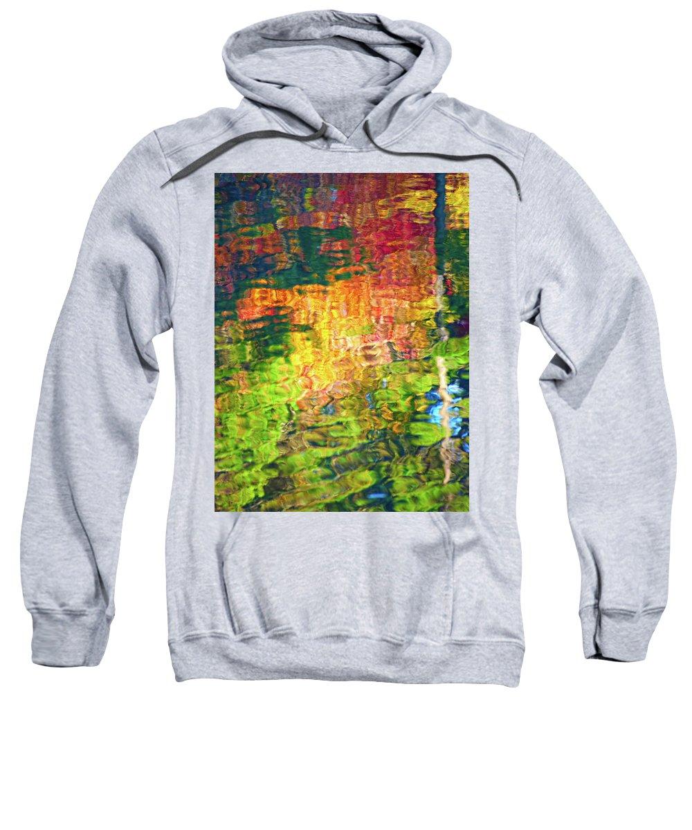 Alabama Sweatshirt featuring the photograph Fall Reflection by Bill Chambers