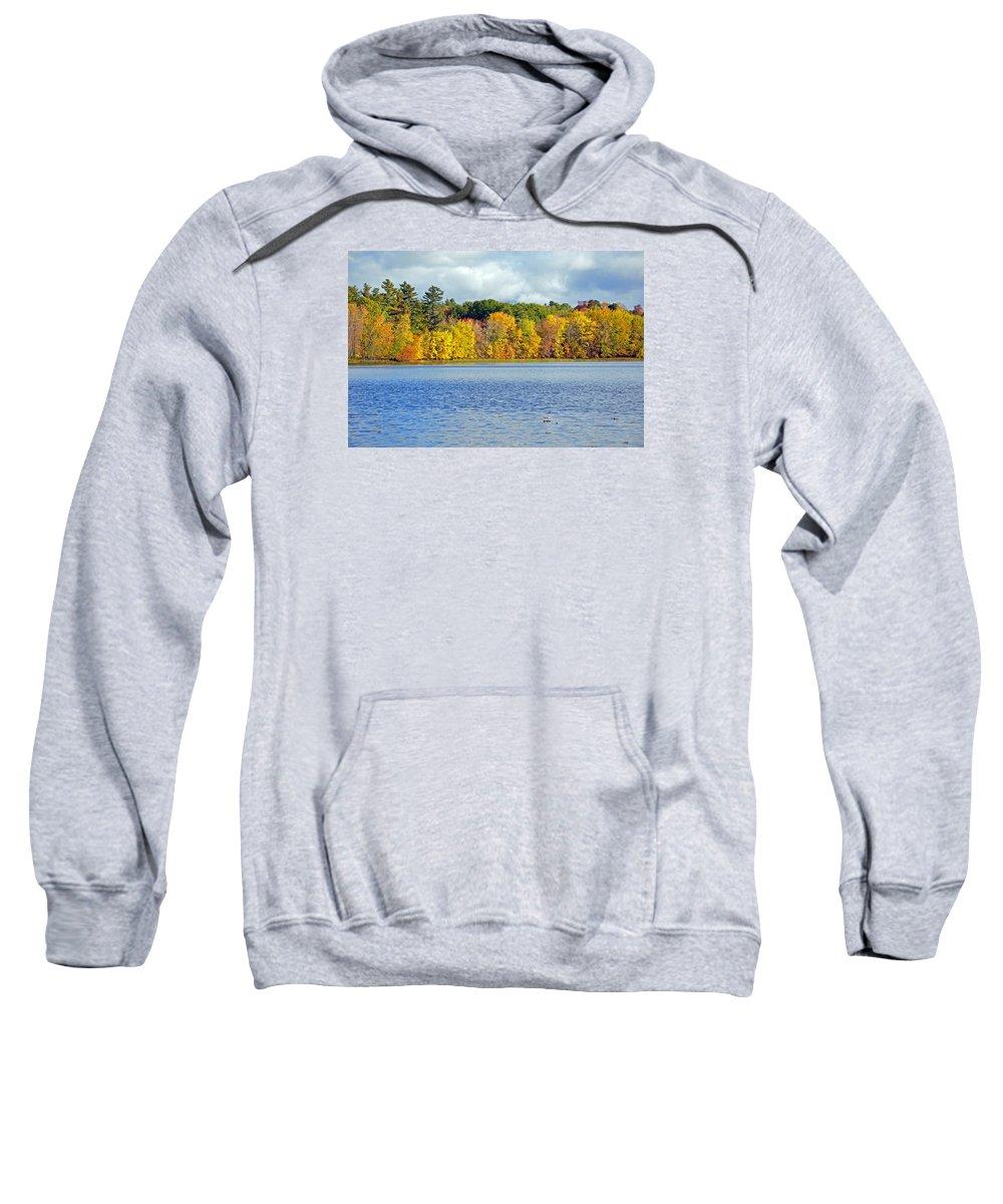 Trees Sweatshirt featuring the photograph Fall Splendor by Glenn Gordon