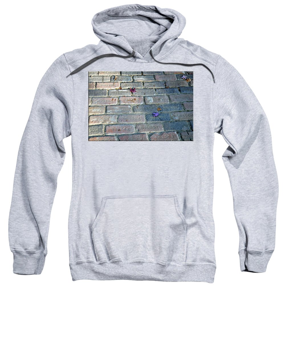Leaves Sweatshirt featuring the photograph Fallen Leaves by Brittany Horton