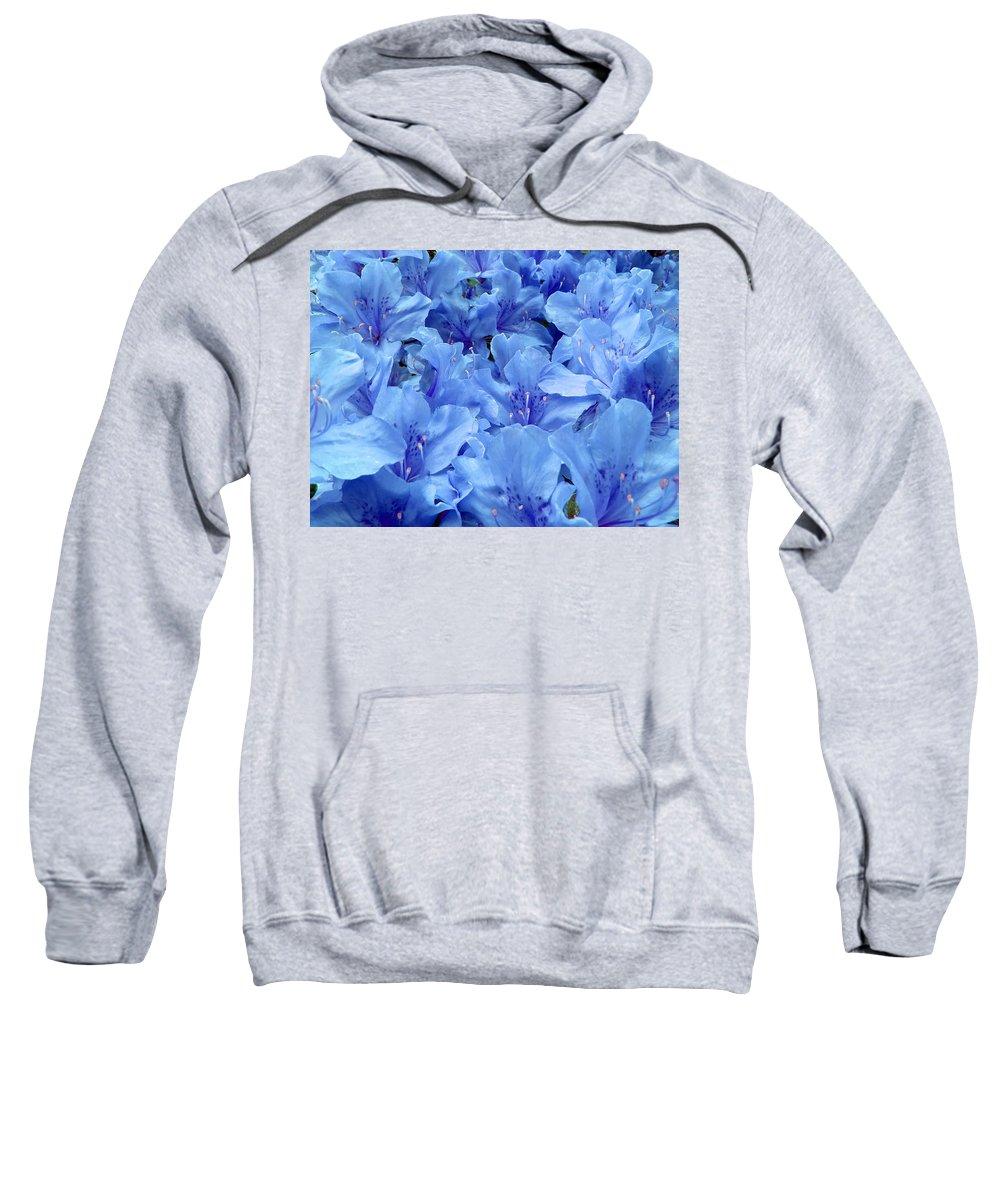 Azalea Sweatshirt featuring the photograph Fantasia Azalea by Daniel Csoka