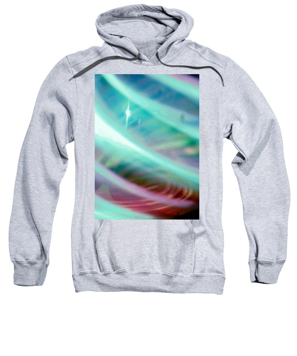 Digital Art Sweatshirt featuring the photograph Fantasy Storm by Scott Wyatt
