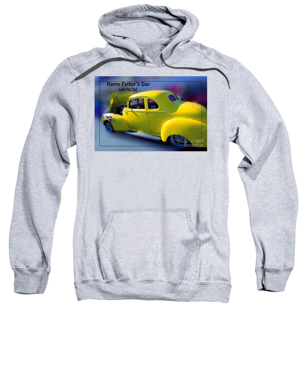 Father's Day Sweatshirt featuring the photograph Father's Day W Frame by Beverly Guilliams