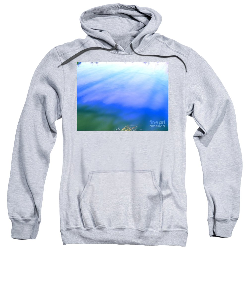 Abstract Sweatshirt featuring the photograph I Feel The Love by Sybil Staples