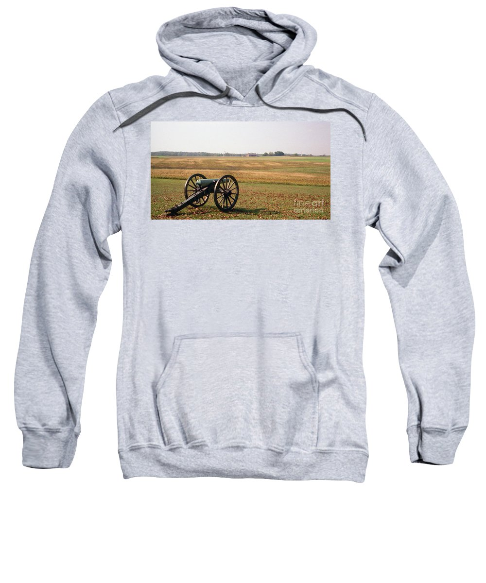 Civil War Sweatshirt featuring the photograph Fields Of Death by Richard Rizzo