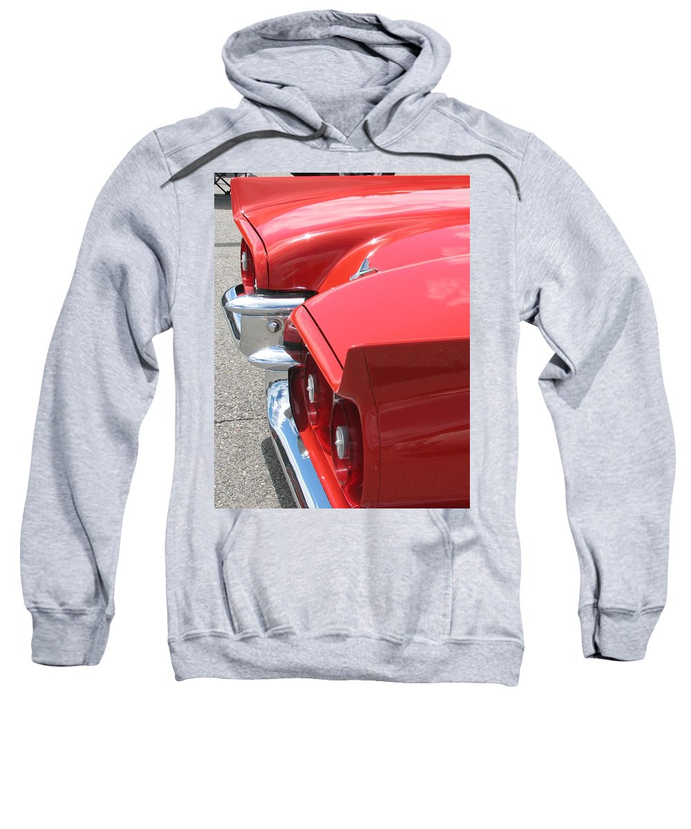 Thunderbird Sweatshirt featuring the photograph Fins Of Thunder by Kelly Mezzapelle