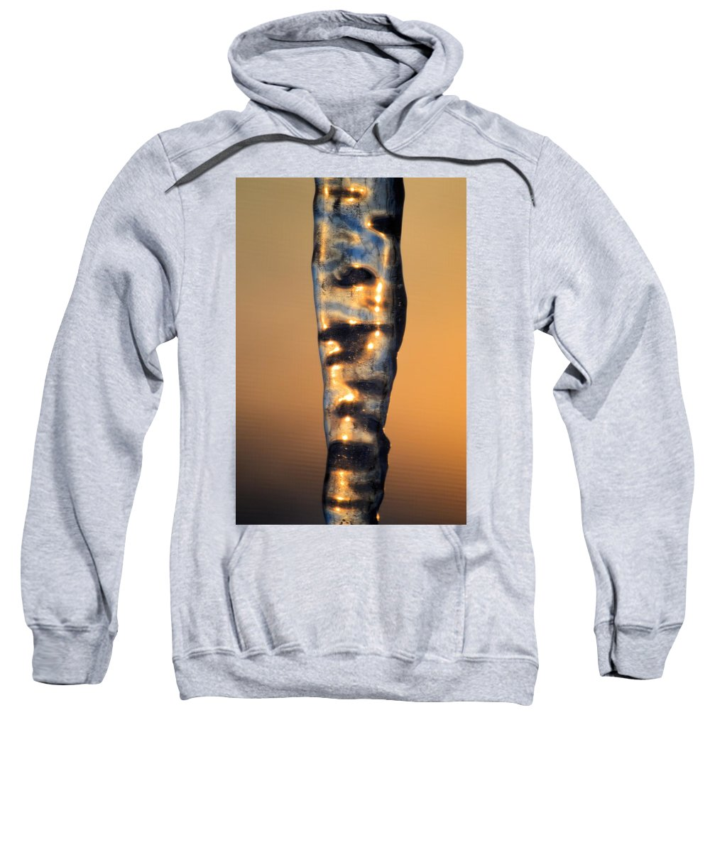 Sunset Sweatshirt featuring the photograph Fire And Ice 8 by Bonfire Photography