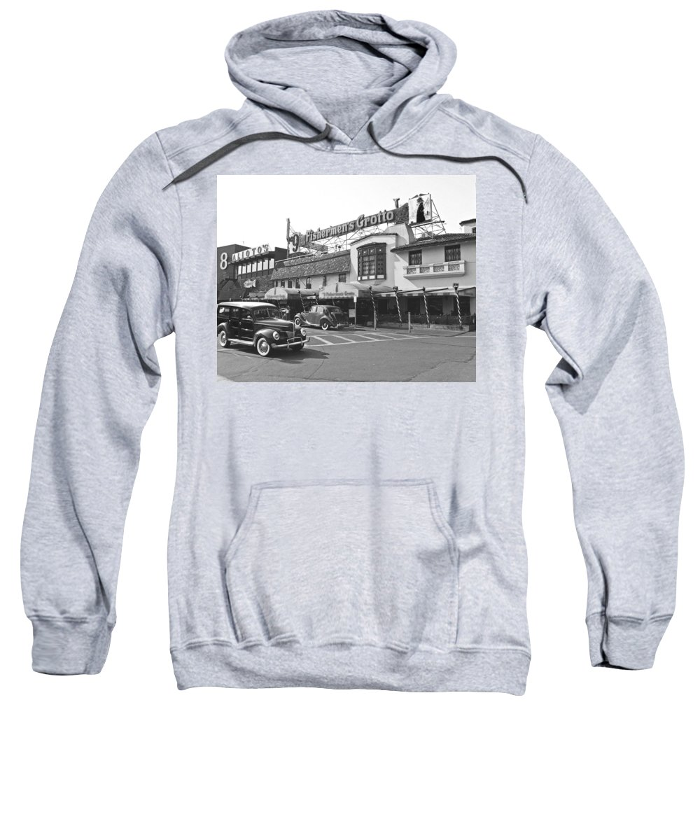 Fisherman Sweatshirt featuring the photograph Fisherman by Tom Reynen