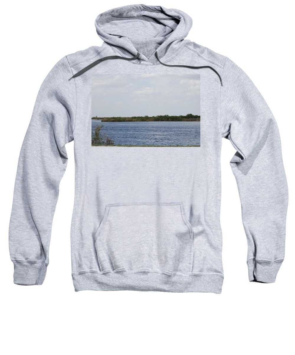 Water Sweatshirt featuring the photograph Fla Everglades by Rob Hans
