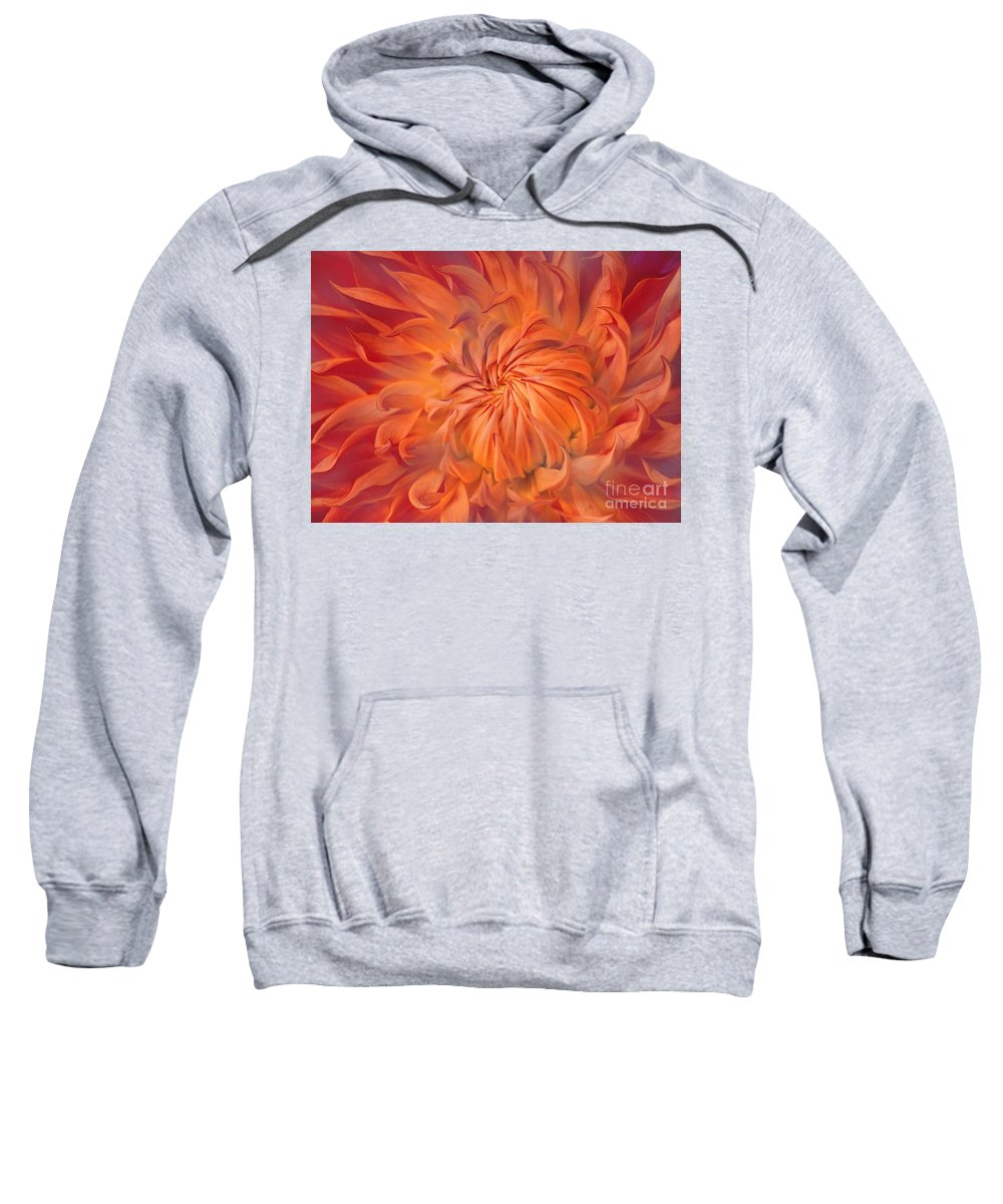 Flower Sweatshirt featuring the photograph Flame by Jacky Gerritsen