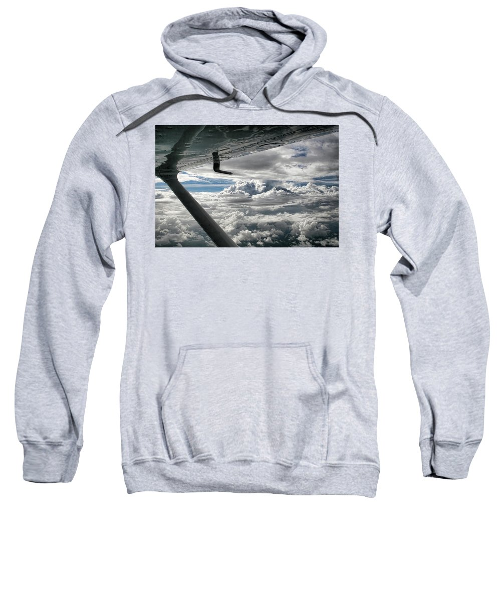 Cessna Sweatshirt featuring the photograph Flight Of Dreams by Patricia Montgomery