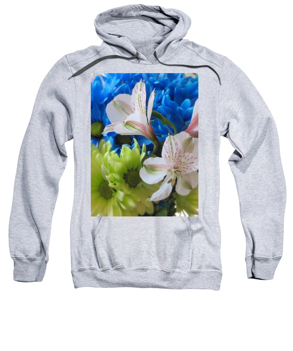Flowers Sweatshirt featuring the photograph Floral Bouquet 1 by Anita Burgermeister