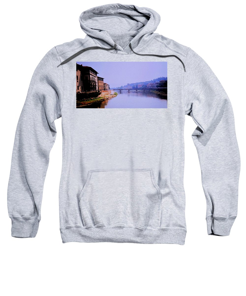 Florence Sweatshirt featuring the photograph Florence by Ian MacDonald