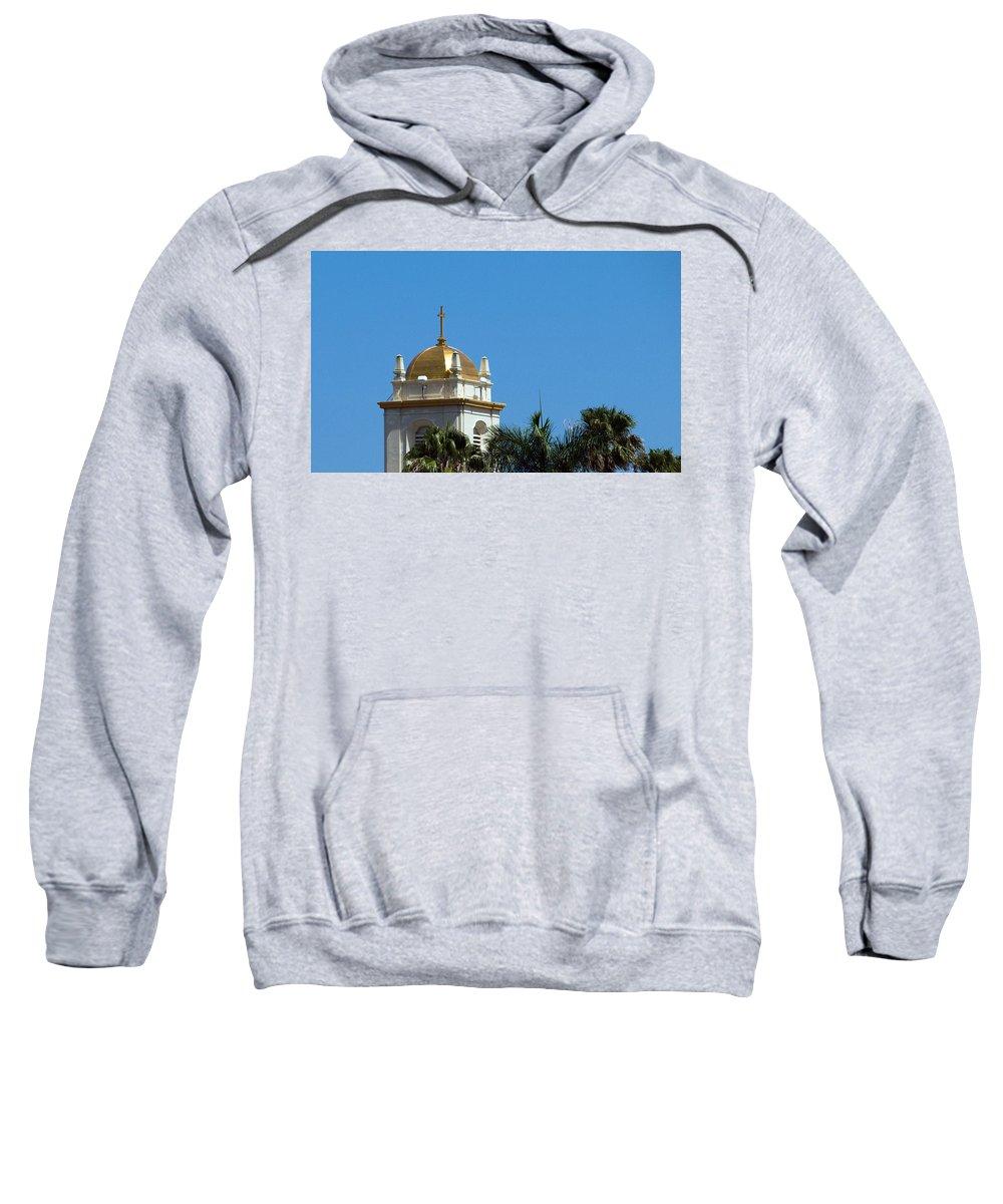 Lake Sweatshirt featuring the photograph Florida Church by Allan Hughes