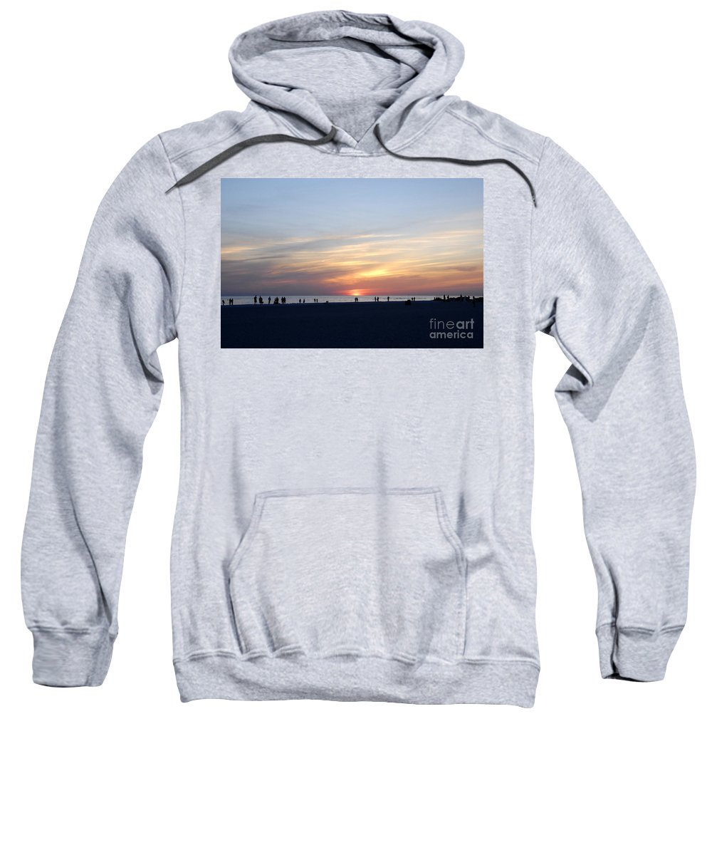 Florida Sweatshirt featuring the photograph Florida Sunset by David Lee Thompson