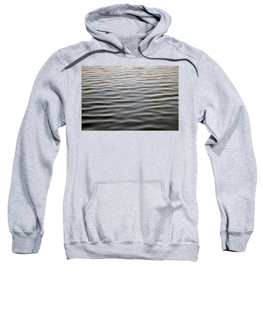 Abstract Sweatshirt featuring the photograph Fluid by Michael Hills
