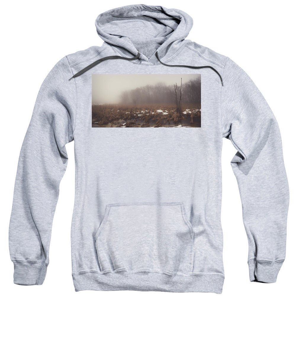 Nature Sweatshirt featuring the photograph Foggy Dreams by Brandon Rosburg