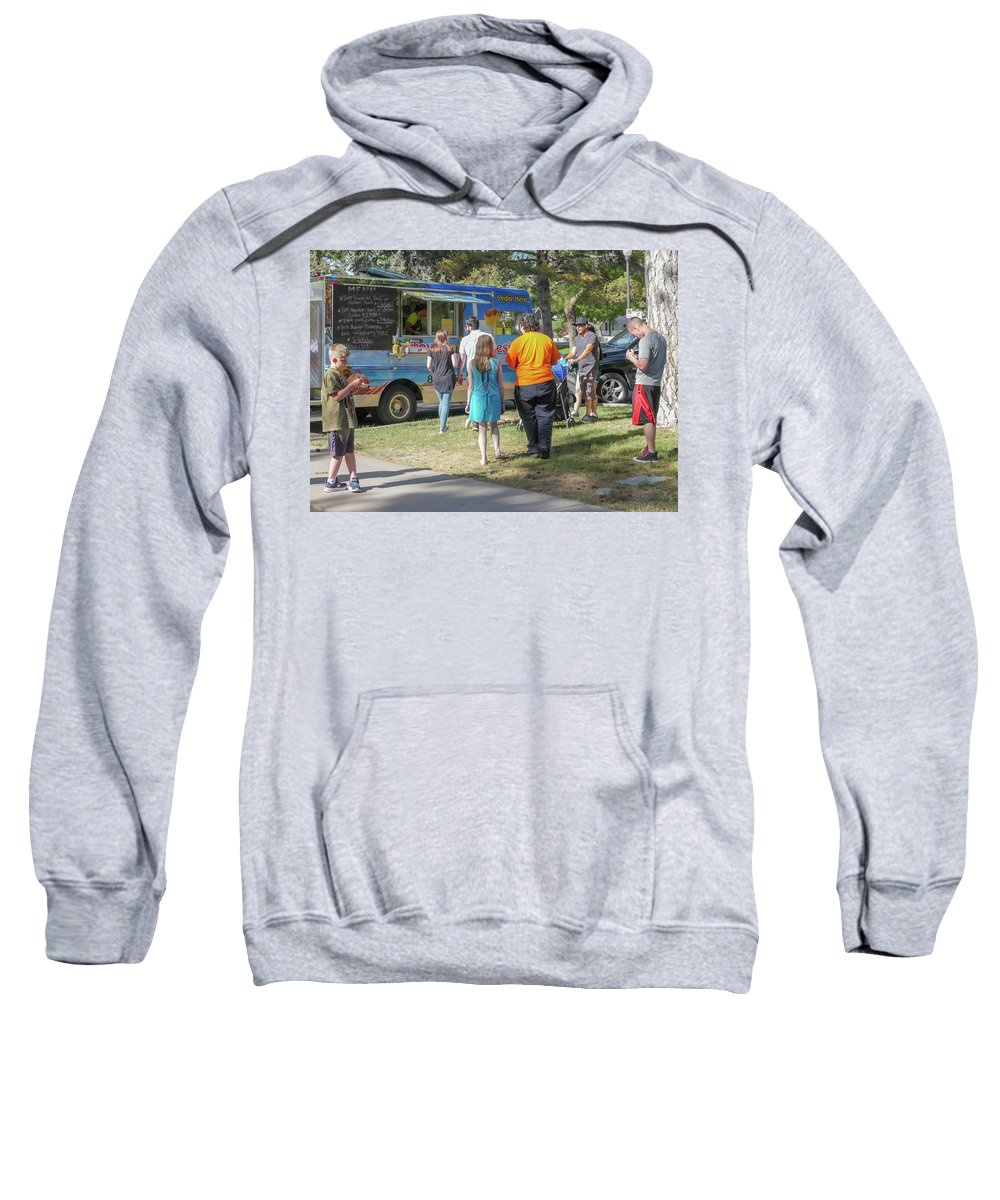 Food Trucks Sweatshirt featuring the photograph Food Truck by Billy Joe