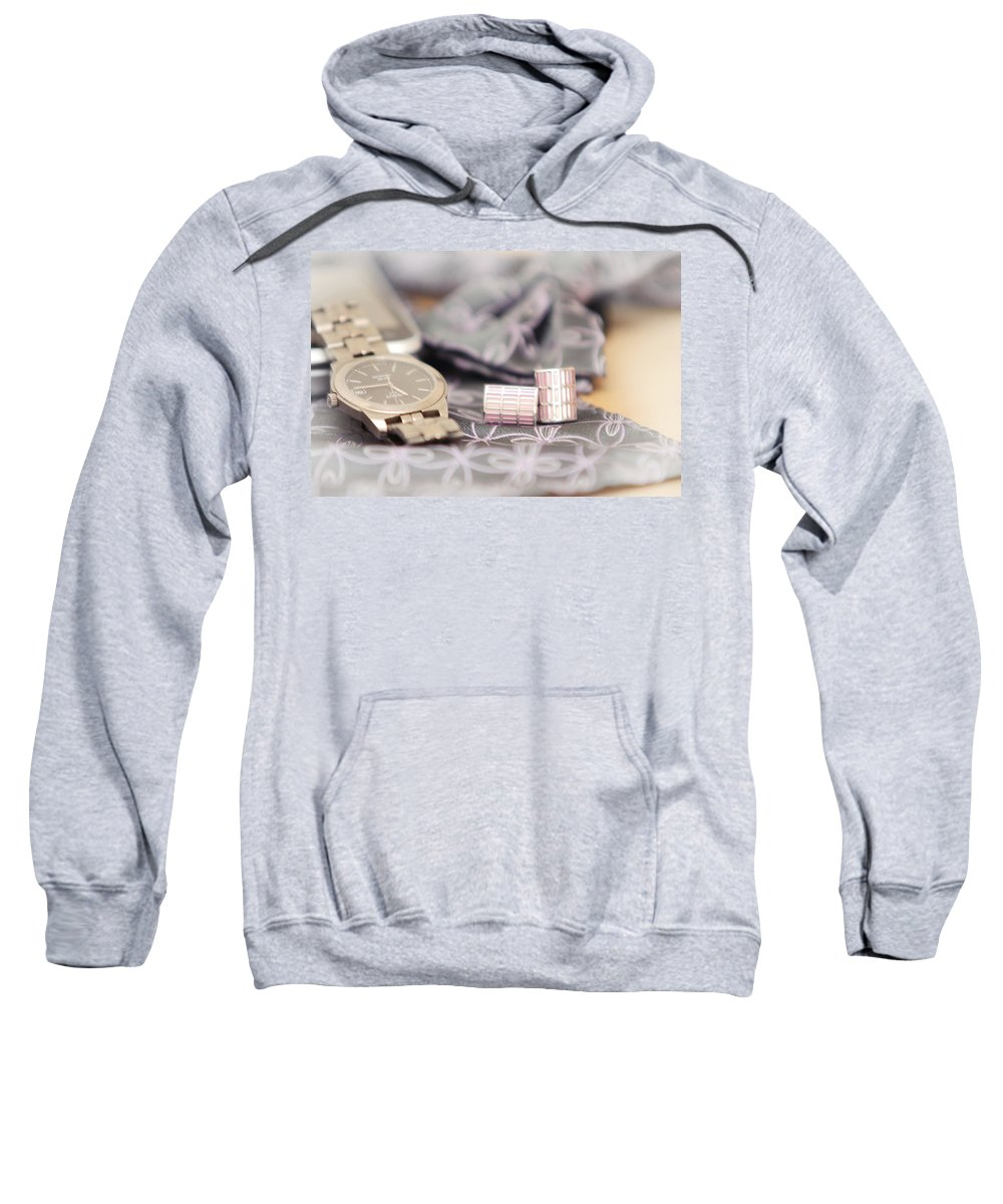Man Sweatshirt featuring the photograph For Him by Jenny Rainbow