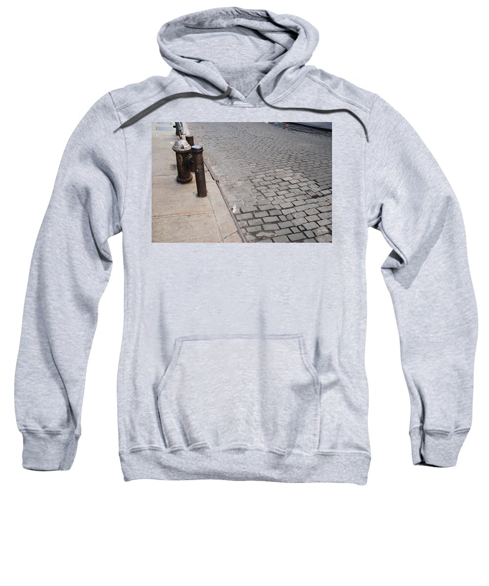 Architecture Sweatshirt featuring the photograph Forgotten N Y by Rob Hans
