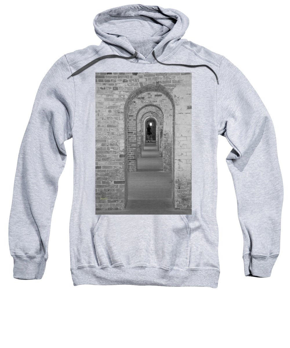 Harkers Island Sweatshirt featuring the photograph Fort Macon Going Home by Betsy Knapp