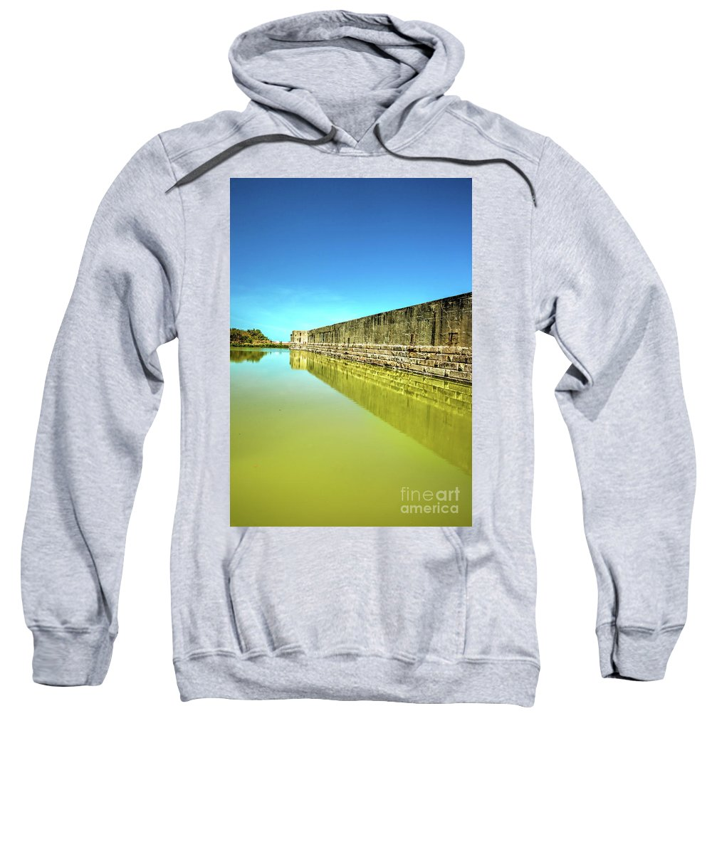 Fort Zachary Taylor Sweatshirt featuring the photograph Fort Zachary Taylor, Key West by Felix Lai