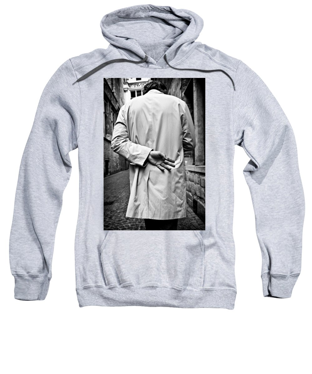 Man Sweatshirt featuring the photograph Four by Dave Bowman