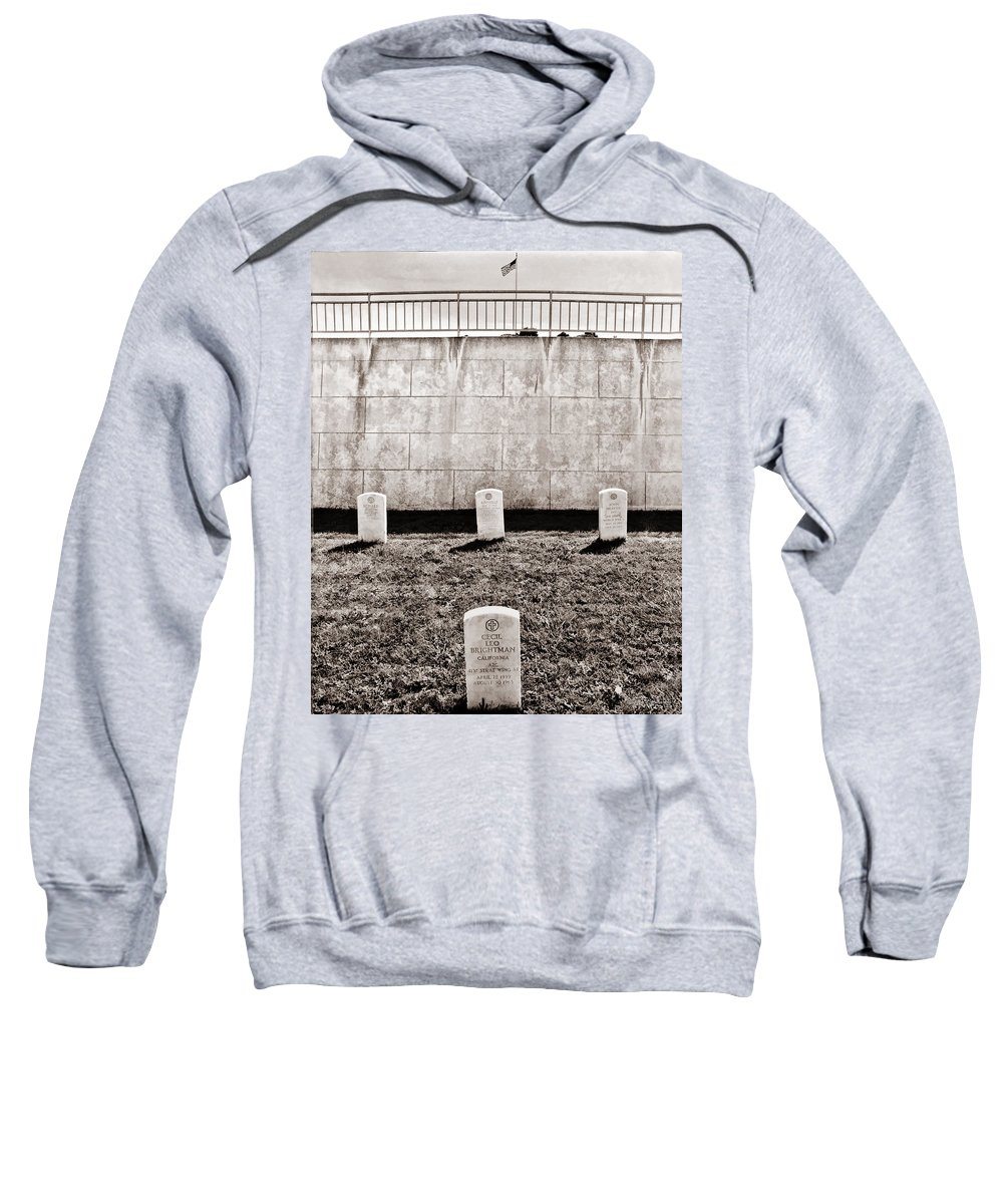 Art Photography Sweatshirt featuring the photograph Four Harrows by Blake Richards