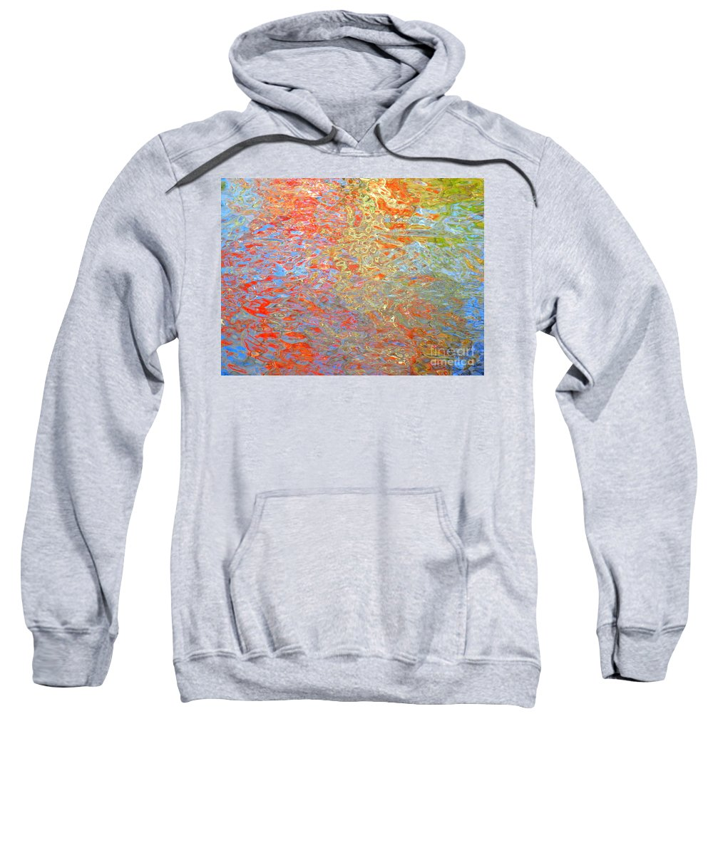 Abstract Sweatshirt featuring the photograph Dimensional Premise by Sybil Staples