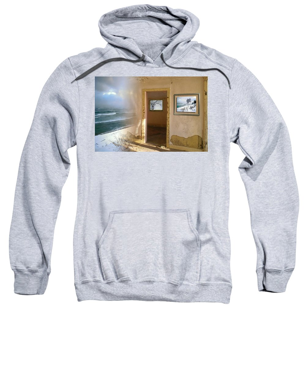Canada Sweatshirt featuring the photograph Framed  by Doug Gibbons