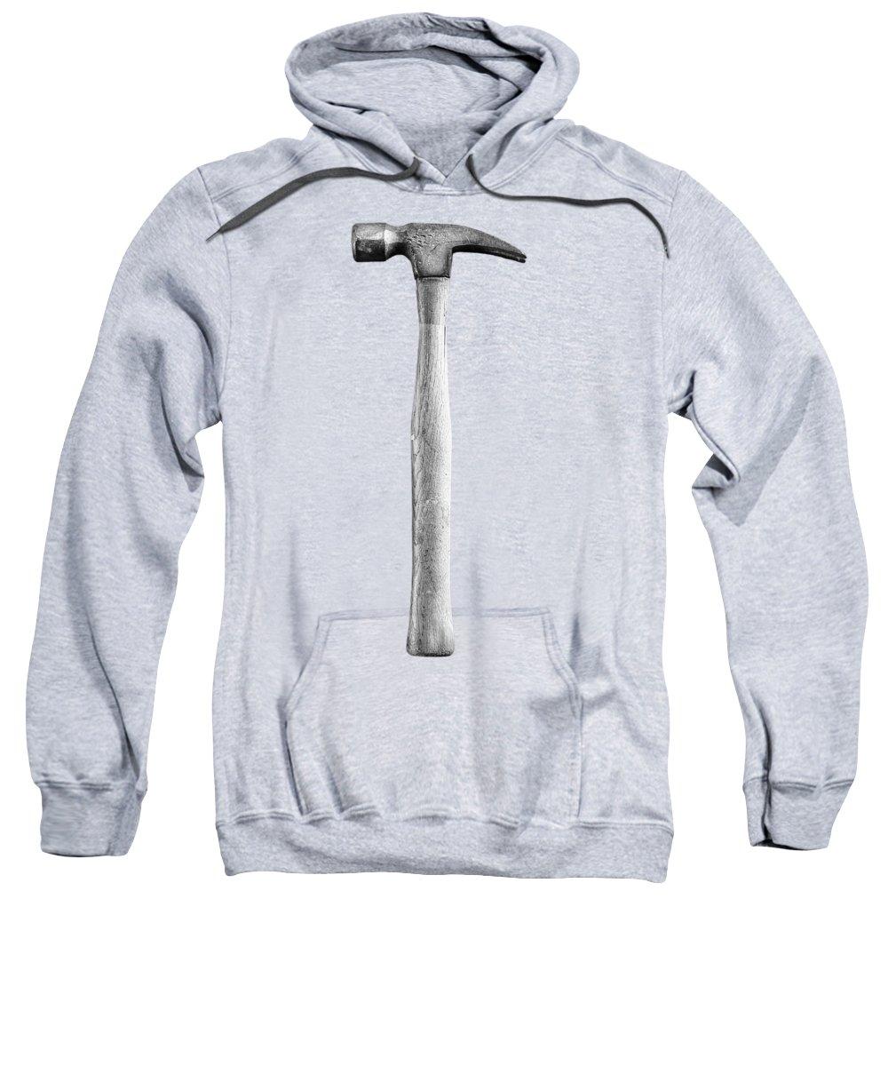 Art Sweatshirt featuring the photograph Framing Hammer L by YoPedro