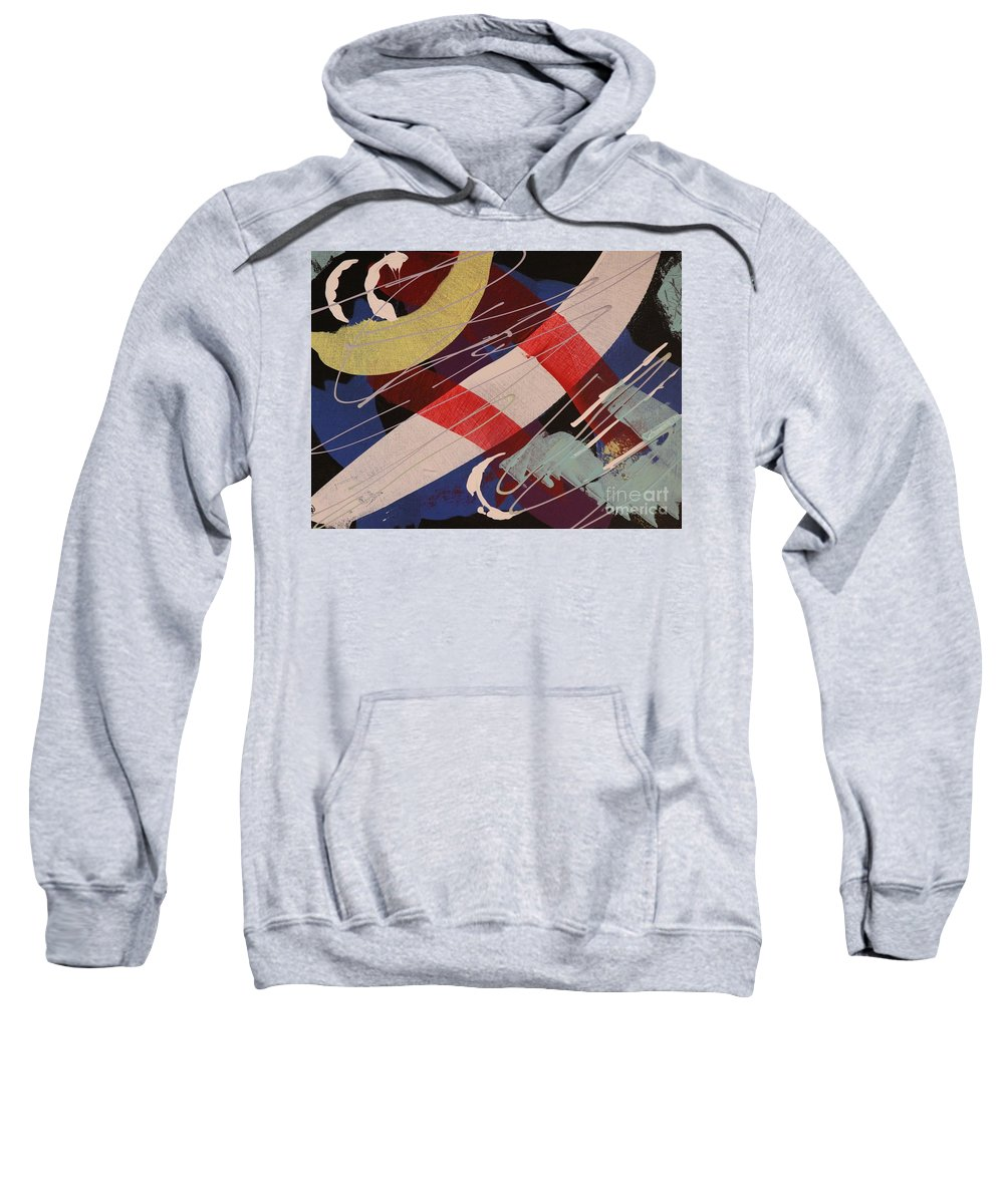 Acrylic Sweatshirt featuring the painting Free Falling - 278 by Robert Dixon