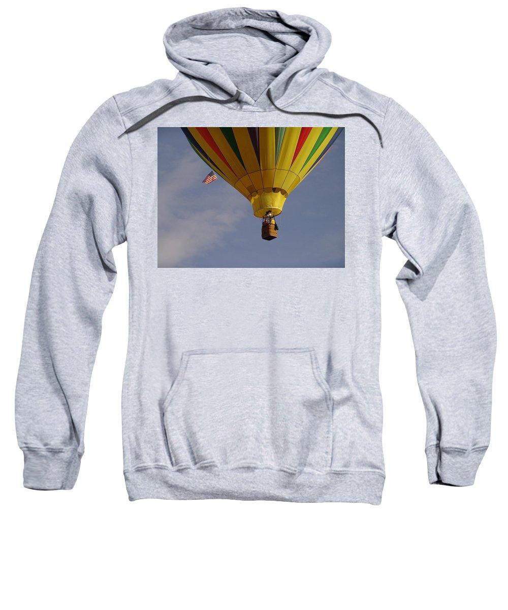 Balloon Sweatshirt featuring the photograph Freedom by Carol Milisen