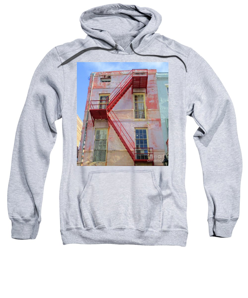 French Quarter Sweatshirt featuring the photograph French Quarter 27 by Randall Weidner
